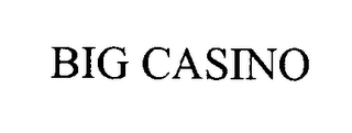mark for BIG CASINO, trademark #76373405