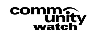 mark for COMMUNITY WATCH, trademark #76374634
