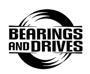mark for BEARINGS AND DRIVES, trademark #76375731