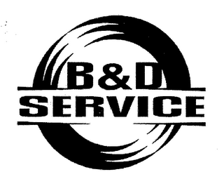 mark for B&D SERVICE, trademark #76375732