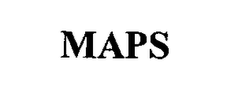 mark for MAPS, trademark #76375878