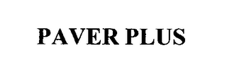 mark for PAVER PLUS, trademark #76376922