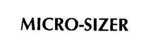 mark for MICRO-SIZER, trademark #76376974