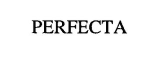 mark for PERFECTA, trademark #76377302