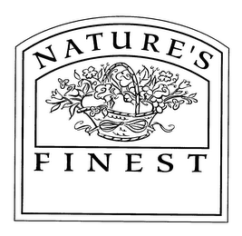 mark for NATURE'S FINEST, trademark #76377755