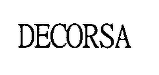 mark for DECORSA, trademark #76379357