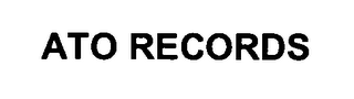 mark for ATO RECORDS, trademark #76379588