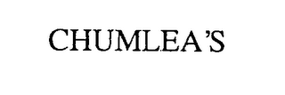 mark for CHUMLEA'S, trademark #76380919