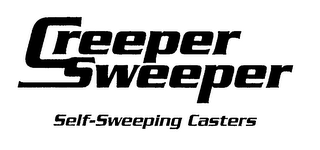 mark for CREEPER SWEEPER SELF-SWEEPING CASTERS, trademark #76381414