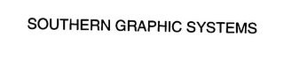mark for SOUTHERN GRAPHIC SYSTEMS, trademark #76383008