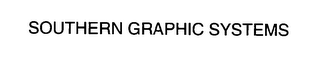 mark for SOUTHERN GRAPHIC SYSTEMS, trademark #76383009