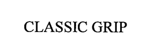 mark for CLASSIC GRIP, trademark #76383637