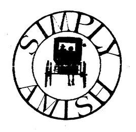 mark for SIMPLY AMISH, trademark #76385684
