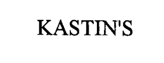 mark for KASTIN'S, trademark #76385901