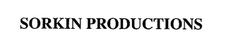 mark for SORKIN PRODUCTIONS, trademark #76385955
