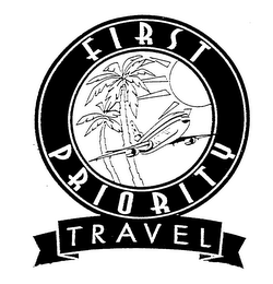 mark for FIRST PRIORITY TRAVEL, trademark #76386487