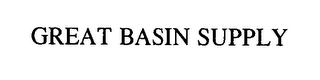 mark for GREAT BASIN SUPPLY, trademark #76386768