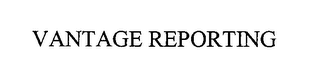 mark for VANTAGE REPORTING, trademark #76389794