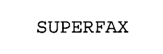 mark for SUPERFAX, trademark #76391688