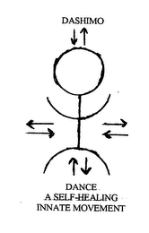 mark for DASHIMO DANCE A SELF- HEALING INNATE MOVEMENT, trademark #76393212