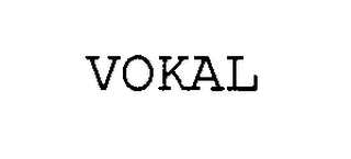 mark for VOKAL, trademark #76393317