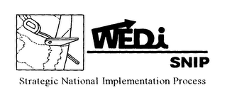 mark for WEDI SNIP STRATEGIC NATIONAL IMPLEMENTATION PROCESS, trademark #76393526