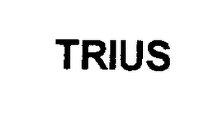 mark for TRIUS, trademark #76393814