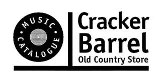 mark for MUSIC CATALOGUE CRACKER BARREL OLD COUNTRY STORE, trademark #76394221