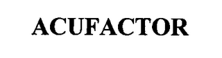 mark for ACUFACTOR, trademark #76394247