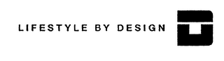 mark for LIFESTYLE BY DESIGN, trademark #76394435