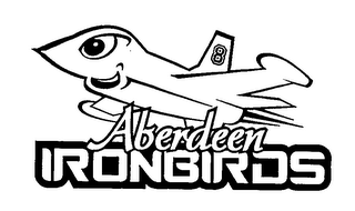 mark for ABERDEEN IRONBIRDS, trademark #76395170