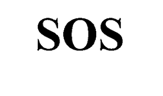 mark for SOS, trademark #76395582