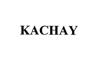 mark for KACHAY, trademark #76395977