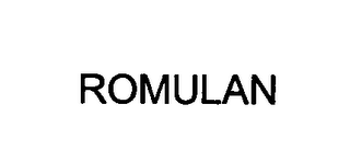 mark for ROMULAN, trademark #76396408