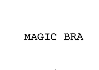 mark for MAGIC BRA, trademark #76396625