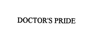 mark for DOCTOR'S PRIDE, trademark #76396731