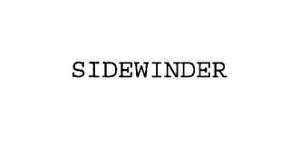mark for SIDEWINDER, trademark #76397064