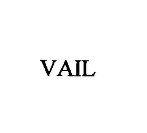 mark for VAIL, trademark #76397150