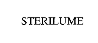 mark for STERILUME, trademark #76397367