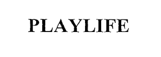 mark for PLAYLIFE, trademark #76398768