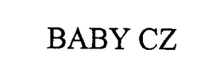 mark for BABY CZ, trademark #76399365