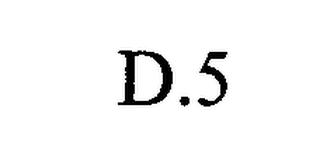 mark for D.5, trademark #76399664
