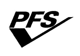 mark for PFS, trademark #76400188