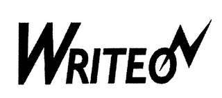 mark for WRITE ON, trademark #76400466