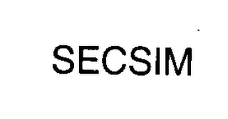 mark for SECSIM, trademark #76402141