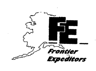 mark for FE FRONTIER EXPEDITORS, trademark #76402713