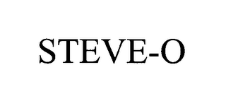 mark for STEVE-O, trademark #76403244
