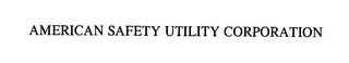 mark for AMERICAN SAFETY UTILITY CORPORATION, trademark #76403334