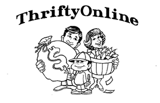 mark for THRIFTYONLINE $, trademark #76404415