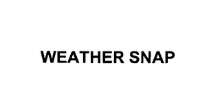 mark for WEATHER SNAP, trademark #76404820